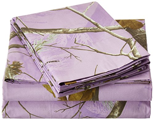 Kimlor Mills Realtree APC Sheet Set, Queen, Lavender by