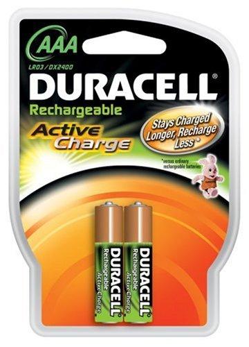 Duracell Akku Active Charge Micro AAA (HR03) 1,2V 800mAh im 2er Pack (Energizer 9v Akku-ladegerät)