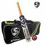 #9: SG RSD Plus Seamer Ecopak Cricket Kit (1 SG RSD Plus Kashmir Willow Cricket Bat (Short Handle) + 1 SG Seamer Leather Ball + 1 SG Ecopak Kit Bag)