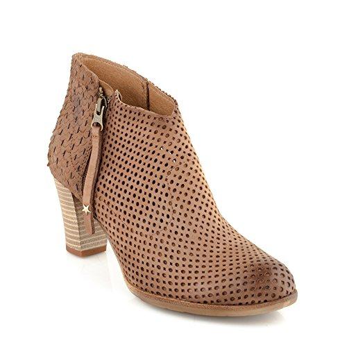 A032 Leder Schuhe Hochhackige Stiefeletten Verlieben Echtes Damen hQdtsrxC