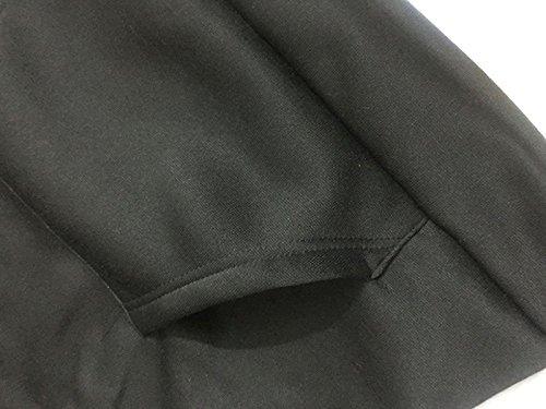 Femme Automne Hiver Pull Hoodies Lettres Imprimé IM A CATManche Longue Chat Cosplay Kawaii Sweat-shirt Tops Sweats à Capuche Femmes Noir