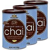3 latas de té latte Chai vainilla David río elefante 398 g