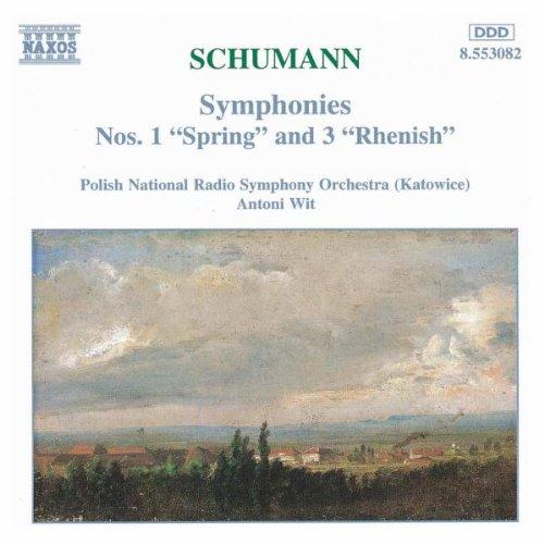 Naxos (Naxos Deutschland Musik & Video Vertriebs-) Schumann: Sinfonien 1 und 3 Wit