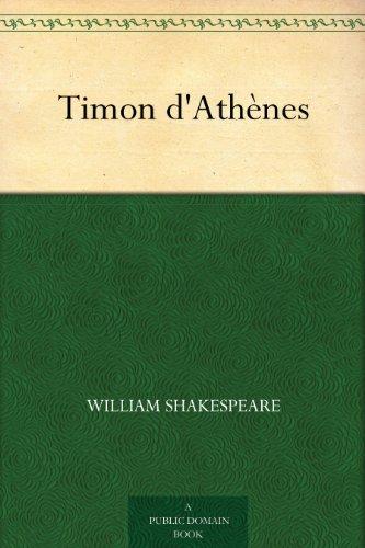 Couverture du livre Timon d'Athènes