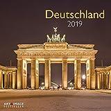 Deutschland 2019 - Landschaftskalender Heimat , Fotokalender , Sehenswürdigkeiten 2019, Wandkalender 2019 - 30 x 30 cm