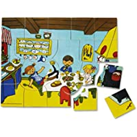 Pippi Langstrumpf - Puzzle Pippi Calzaslargas de 19 piezas [Importado de Alemania]