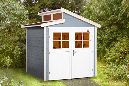 Weka Gartenhaus 226 Größe 1 grau