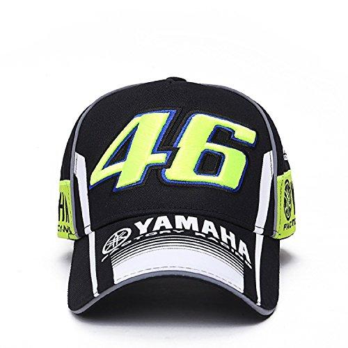 Gorra Valentino Rossi VR46 Moto GP M1 Yamaha Racing Team Negra