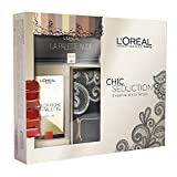 L'Oréal Make Up Designer Paris Cofanetto Natale Chic Seduction: pochette + palette Ombrèe + palette labbra Color Riche immagine