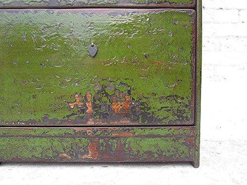 China mittlerer Scarpiera inglese verde verniciatura a tre scomparti ...