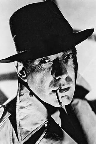 Moviestore Humphrey Bogart 91x60cm Schwarzweiß-Posterdruck