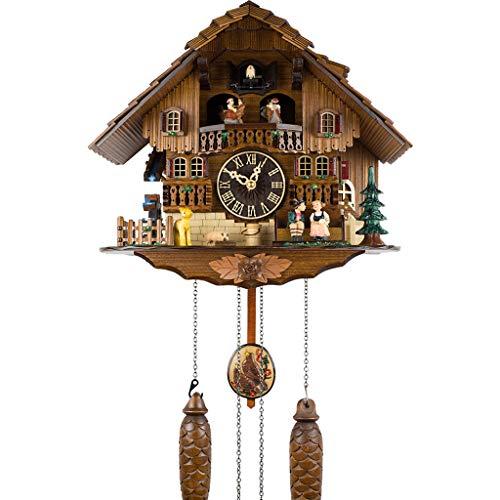 Kuckuck Wanduhr Little Bird Kuckuck Report Time Vintage Deutsch Schwarzwald Cottage - Cottage, Cuckoo Clock