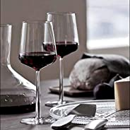 Exelcius® - Red or White Wine Glass 2 Pcs. Set, 360 ml,Transparent Glass
