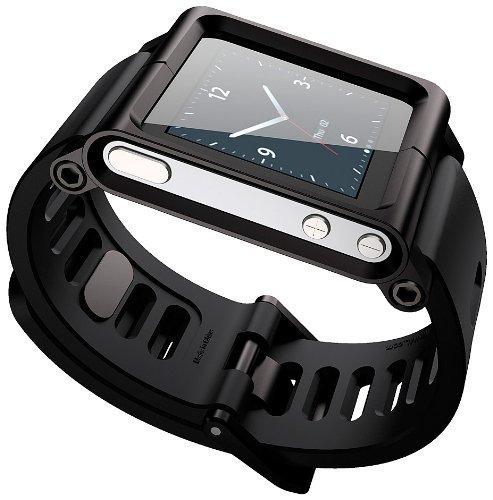 aussel-cool-alumium-watch-band-wrist-strip-for-ipod-nano-6g-cover-case-black