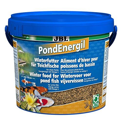 JBL PondEnergil 41028 Alleinfutter für alle Teichfische Futtersticks, 1er Pack (1 x 5,5 l)