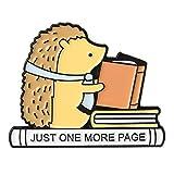 QIHE gioielli libro pin collezione lettore spille libro appuntamento loghi gioielli regalo letterario per libro amante lettura bibliofilo
