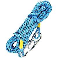 VORCOOL - Cuerda de escalada al aire libre de 2 metros con gancho de acero de 10 cm (color al azar)