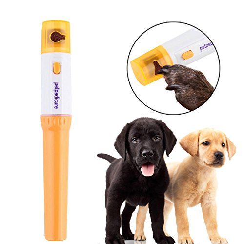 oobest Nail Grinder Grooming Trimmer Clipper Pedicure Tool Care Automatic Pet Grinder File Electric Pet Dog Puppy Cat…