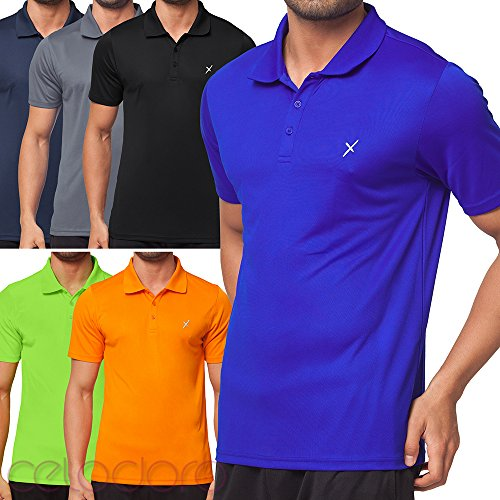 7143a5268f7935 CFLEX Men Sportswear Collection - Herren Polo Shirt | Funktions Sport Hemd