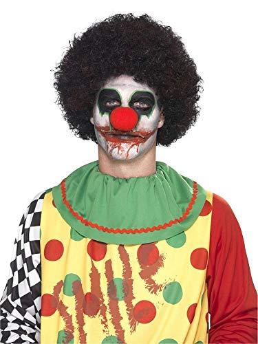 shoperama Professionelles 7-teiliges Schminkset Killer-Clown Make-up Schminke FX Untoter Halloween Horror Karneval Fasching