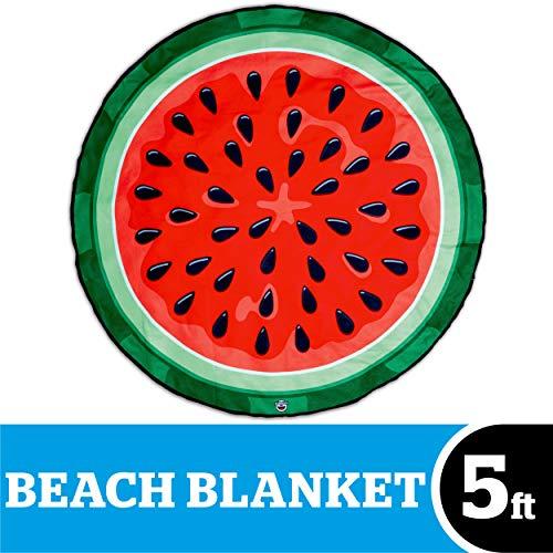 Bigmouth inc. - anguria cocomero telo mare gigante spiaggia - asciugamano coperta xxl rotonda bagno