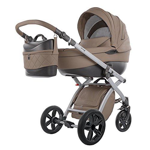 knorr-baby 2580-5 Kombi Kinderwagen Alive Pure, cappuchino