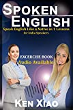 #2: Spoken English Books: Speak English Like a Native in 1 Lesson for India Speakers