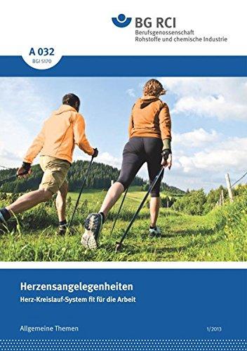 A 032 Herzensangelegenheiten (BGI 5170): Herz-Kreislauf-System fit für die Arbeit