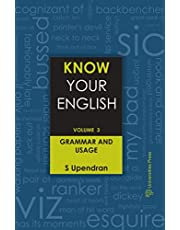 Know Your English (Vol.3): Grammar and Usage