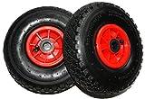 2 Stück Rad 260/85/25* Reifen 3.00-4 PR2 Sackkarrenrad Sackkarren Bollerwagen Tragkraft 136 kg