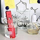 Erma Pocket Size pH Meter /Mini Water Quality Tester, pH 0-14.0 Measuring Range, 0.1pH Resolution (Red)