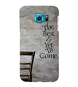 CHAPLOOS Designer Back Cover For Samsung Galaxy S6 Edge
