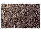 Primaflor - Ideen in Textil Kokosmatte Grau 0,60m x 1,00m Fußmatte Schmutzfangmatte für Außen Türmatte