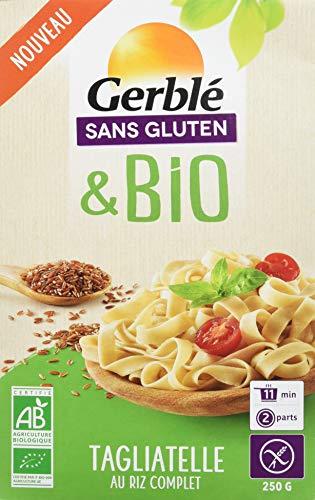 Gerblé Tagliatelles Riz Complet sans Gluten Bio 250 g