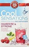 Teekanne Cool Sensations Himbeere & Zitrone - kalter Tee - 18 Beutel