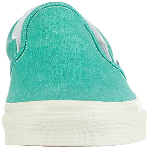 Vans U Classic Slip-on, Baskets mode mixte adulte Vert (Pool Green)