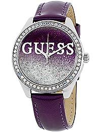 GUESS Analog Purple Dial Women's Watch - W0823L4