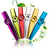 Best Kazoos - Metal Kazoo Musical Instruments, Set of 6, Colorful Review