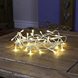 Indoor Fairy Lights - 40 Warm White LEDs - Clear Cable by Festive Lights Bild