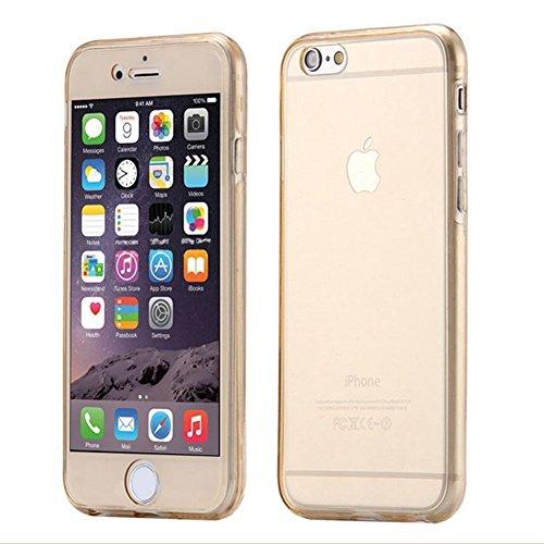 iPhone 6/6S plus Coque Housse Etui Transparent,iPhone 6/6S plus Case Glitter,Hpory élégant Luxe Ange Motif Cristal Clair Transparent Paillette Bling Glitter Diamant Strass Brillante Housse de Protecti Gold