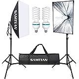 SAMTIAN 2X85W Glühbirnen Kontinuierliche Beleuchtung Kit 20