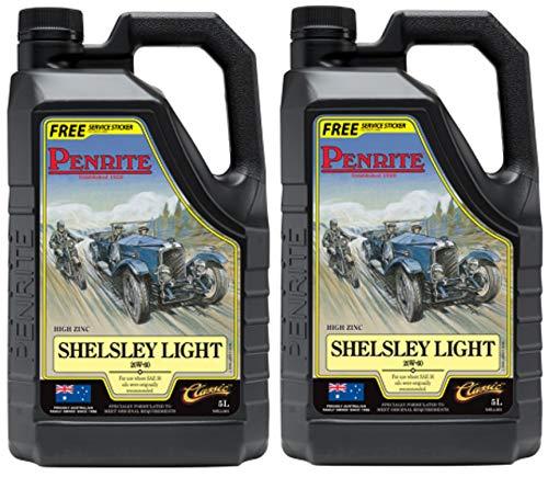 Penrite Shelsley Light 20W-60 - Olio Motore 10 Lit