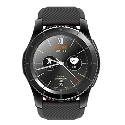 Kivors Smart Watch,G8 Bluetooth Smartwatch Fitness Tracker with Touch Screen Pedometer for Android &IOS Smart Phone