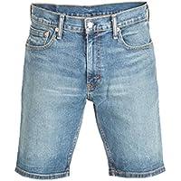 Levis Herren Jeansshorts 502 TAPER HEMMED SHORT 32792-0009 Hood Short