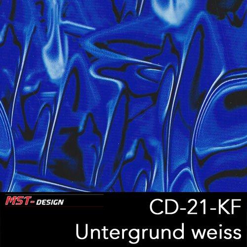 Preisvergleich Produktbild MST-Design Wassertransferdruck WTD 1 m Alien blau CD 21-KF Breite 50 cm Film/Wassertransferdruckfilm Film WTP Water transfer printing Hydrographics