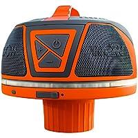 WOW altavoz flotante 17–9000de sonido, Bluetooth, impermeable, 50horas de batería, 360Degree sonido, luz LED, compatible con en una taza Holder