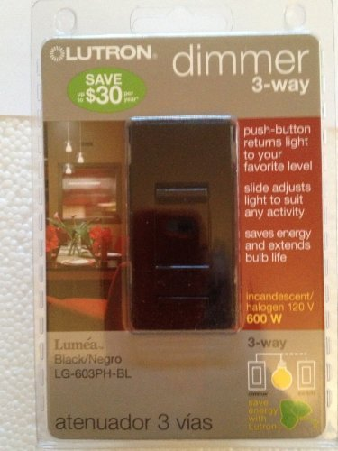 Lutron Preset 3-Way Dimmer by Lutron - Preset Dimmer