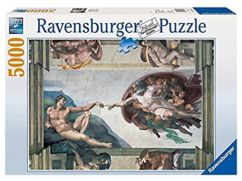 Ravensburger Michelangelo Creation of Adam Puzzle (5000 Pieces)