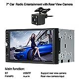 KKmoon Universal 7Zoll 2 Din HD Auto Radio MP5 Player Radio Entertainment Multimedia mit Rückfahrkamera Unterstützt BT