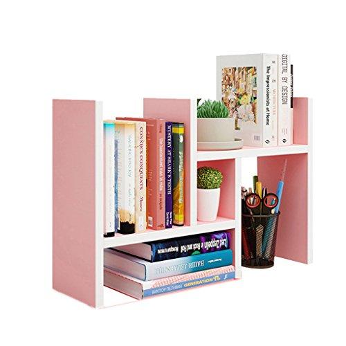 XXGI Einfache Bücherregal Einfache Kinder Multi-Schicht Kombination Schüler Schreibtisch Lagerung Regal Buchregal Desktop Bücherregal (58,5 * 15 * 35 Cm) Bücherregal Kit